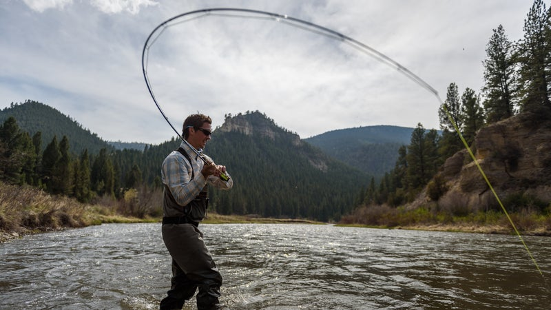 Fishing the picturesque Smith River is a must in Montana.