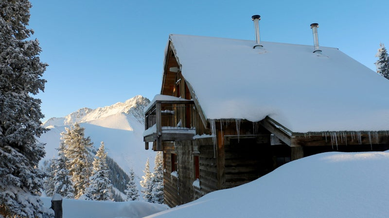Bob Kingsley's Opus Hut is a stunning timber and stone hut located atop Ophir Pass.