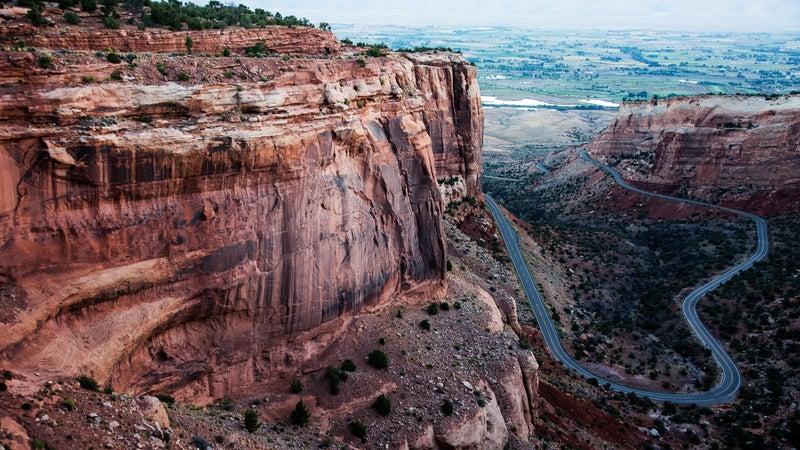 One of endless mountain vistas in Colorado.