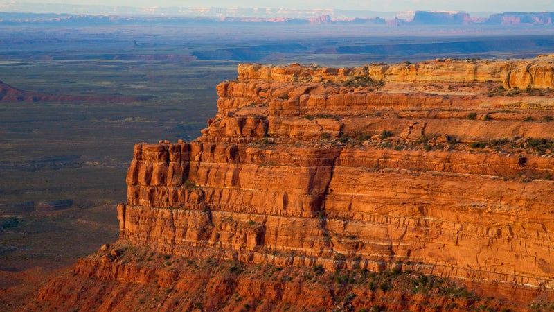 The Cedar Mesa Valley of the Gods is part of the 1.35 million-acre Bears Ears National Monument in southeastern Utah, which protects the area's most significant cultural landscapes.