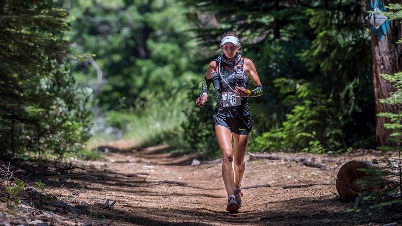 Caroline Boller won the 2016 Brazos Ben 50-mile trail race.
