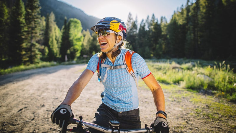 World-champion mountain biker Rebecca Rusch believes that women aren't remotely close to maxing out their genetic capabilities.