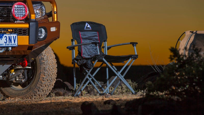 With thick aluminum runners for the legs and arms, ARB's camp chair is vastly overbuilt. But it's also damn near indestructible and an extremely comfortable place to pass an evening.