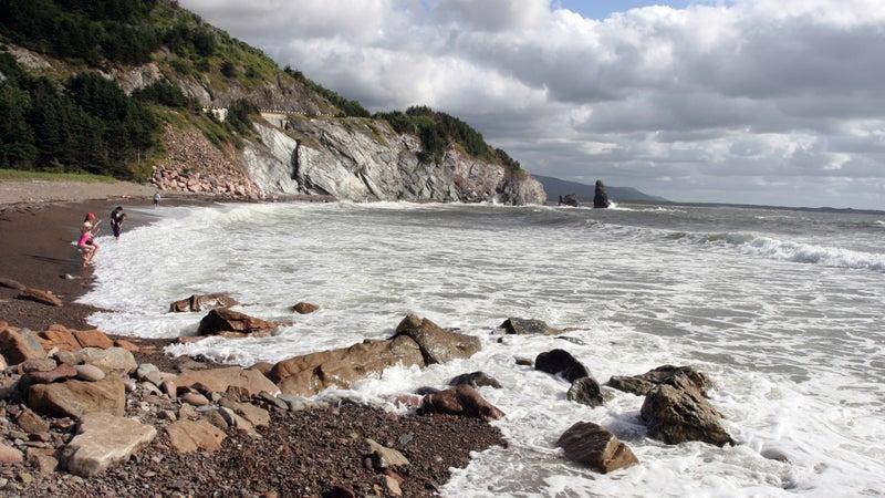 A beach in Cape Breton Highlands National Park.