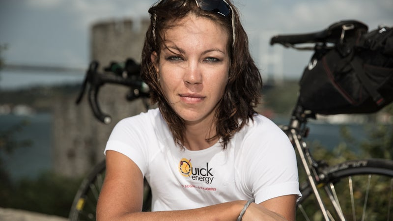 Juliana Buhring's life was one of thousands significantly impacted by knowing and cycling with Mike Hall.
