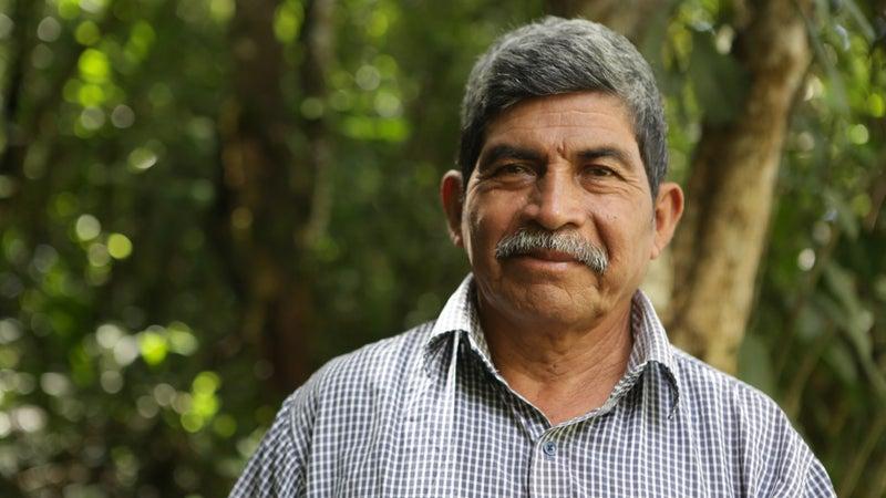 2017 Goldman Environmental Prize winner Rodrigo Tot.