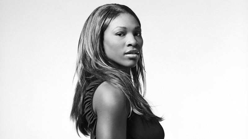 Tennis legend and yoga practitioner Serena Williams.