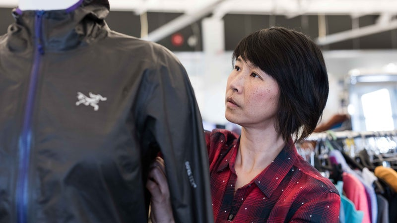 Nancy Hoo, a marathoner and designer for Arc'teryx, is working hard to create your favorite base layers.