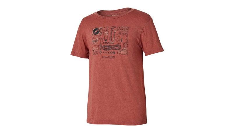 Royal Robbins Upward Variations shirt.
