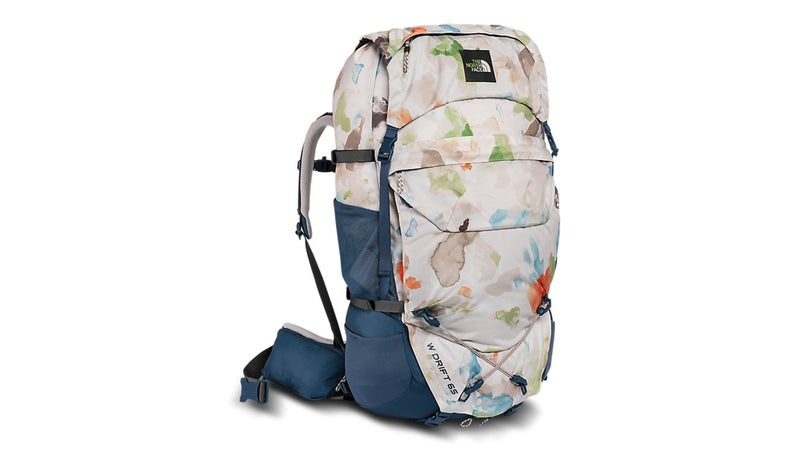 The North Face Drift 65 pack.