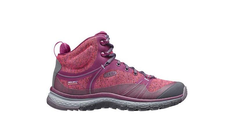 Keen Terradora Mid WIP boots.