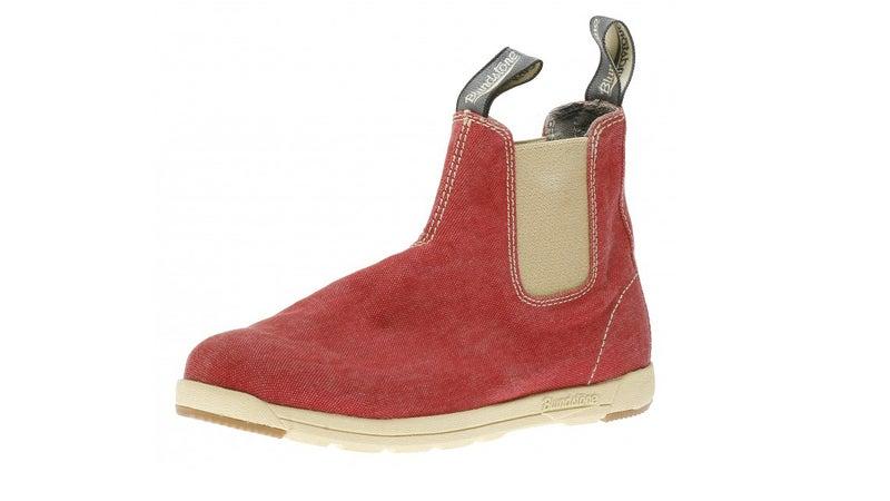 Blundstone Canvas shoe.