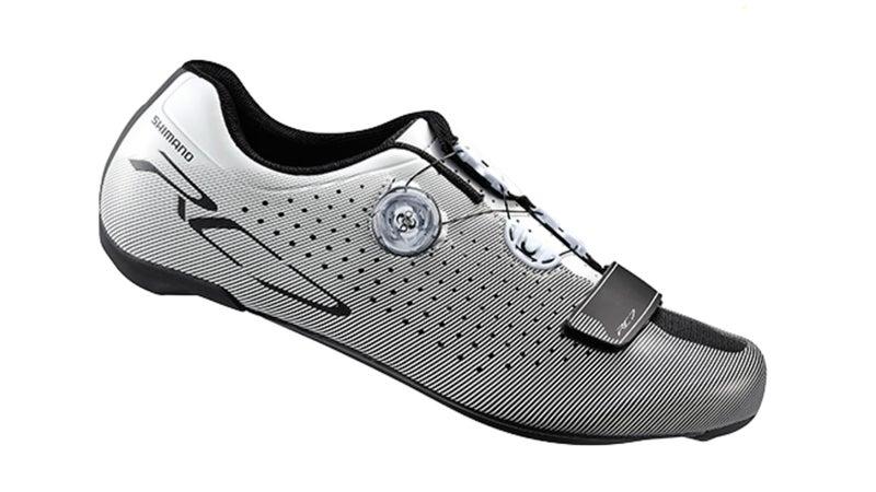 Shimano RC7 shoes.