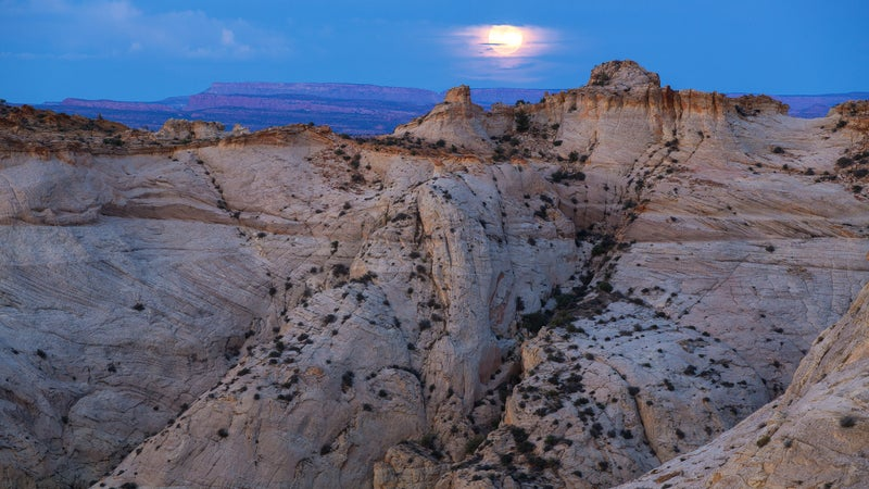 The executive order reaches back to include the 1.9 million-acre Grand Staircase-Escalante, established in 1996 by then-President Bill Clinton.