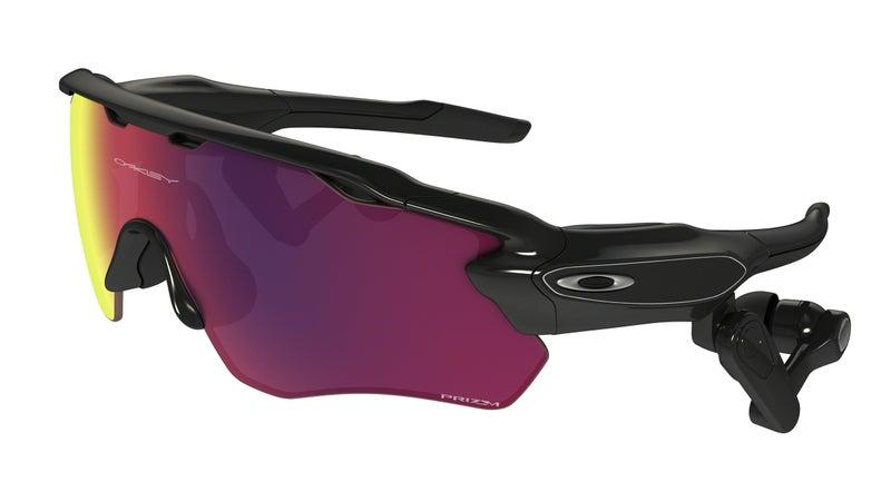 Oakley Radar Pace sunglasses.