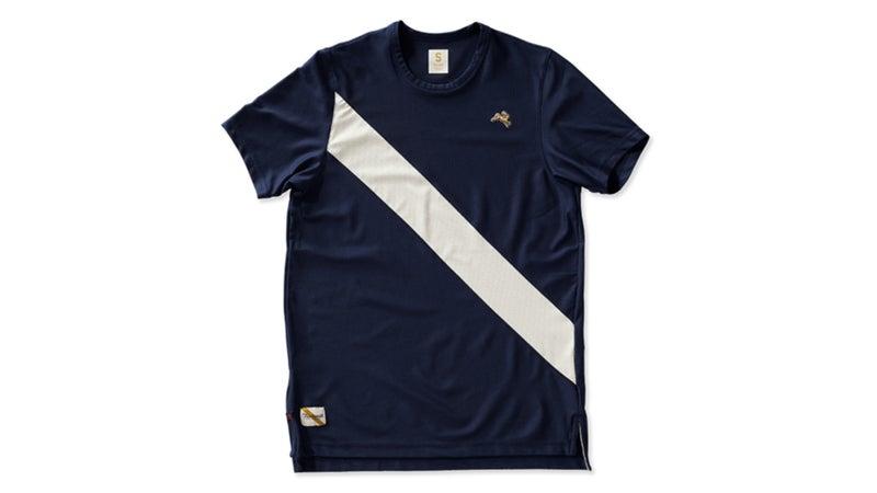 Tracksmith Van Cortlandt Tech shirt.