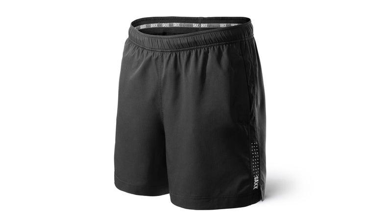 Saxx Kinetic Run shorts.