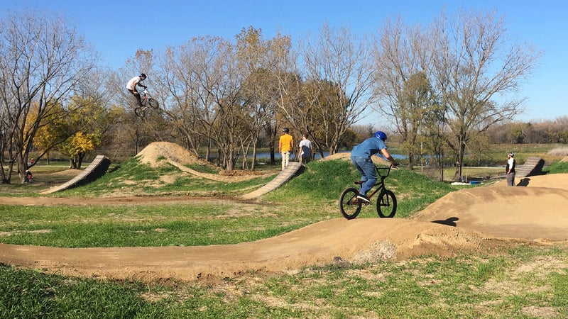 Chicago's first venture into eco-recreation, the 300-acre Big Marsh park, combines ecological restoration with singletrack, gravity, and flow trails.