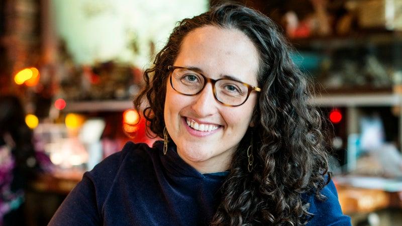 Mappy Hour founder Sarah Knapp.