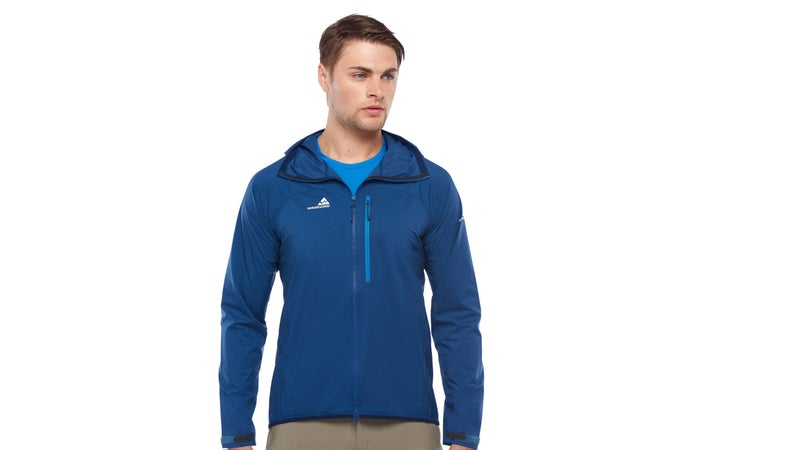 Paired with a merino t-shirt, an ultralight softshell creates comfort across a wide range of weather conditions.