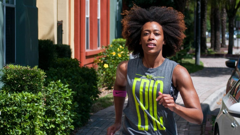 Carey started the running club Black Girls Run! because she felt black women were underrepresented in the running community.