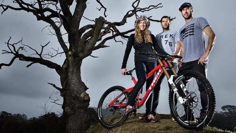 Rachel's siblings, Dan (middle) and Gee (right), helped her discover her passion for racing, but it's her individual spirit that motivates her to continue in the sport.