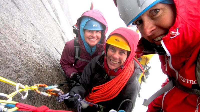 A selfie from one of Hawse's guiding trips.