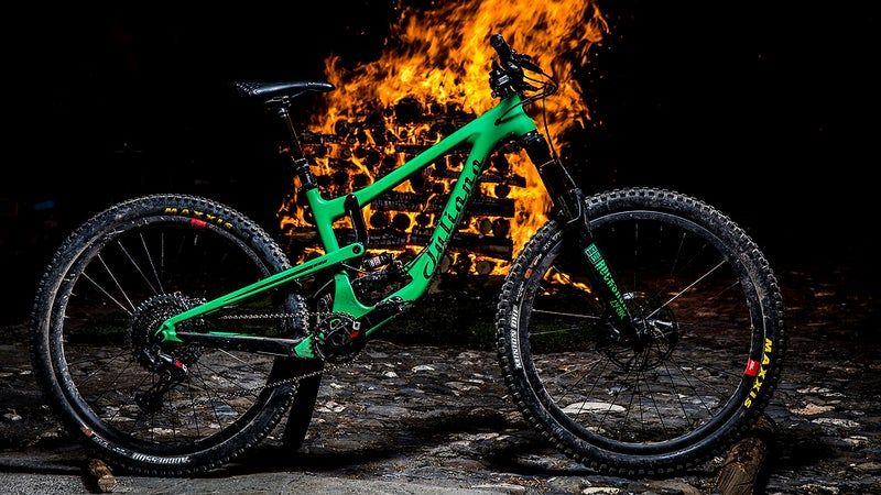 This bike is lit.