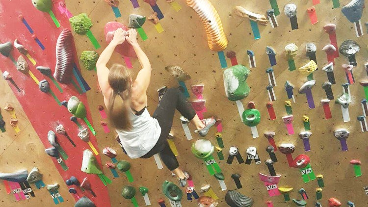 Each boulder problem is unique, with different holds and movements up the wall.