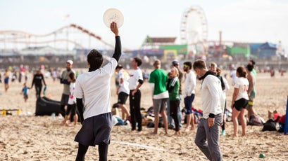 Lei-Out is one of the world's largest beach-ultimate tournaments.