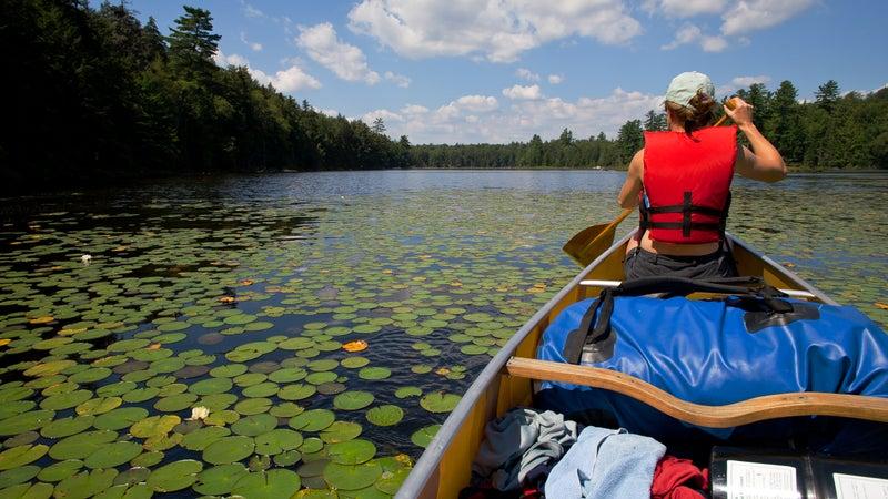 St. Regis Canoe Area, New York