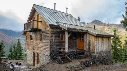 Colorado's Opus Hut, in the San Juan Mountains