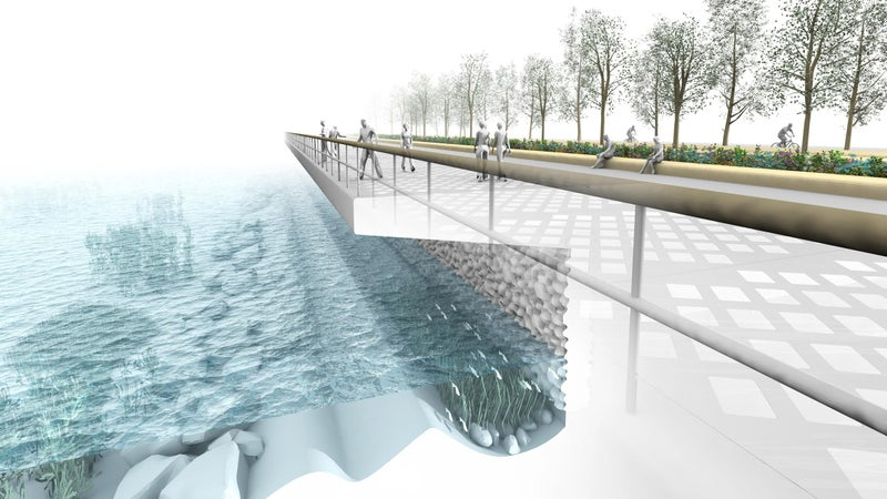 Seattle is using their waterfront to help out salmon.