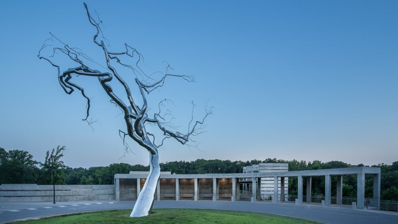It may be the home of Walmart, but Bentonville also shares space with the likes of Jackson Pollack, Mark Rothko, and Jasper Johns.