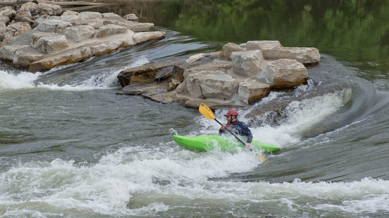 Get your whitewater on at Eastwood MetroPark in Dayton, Ohio.