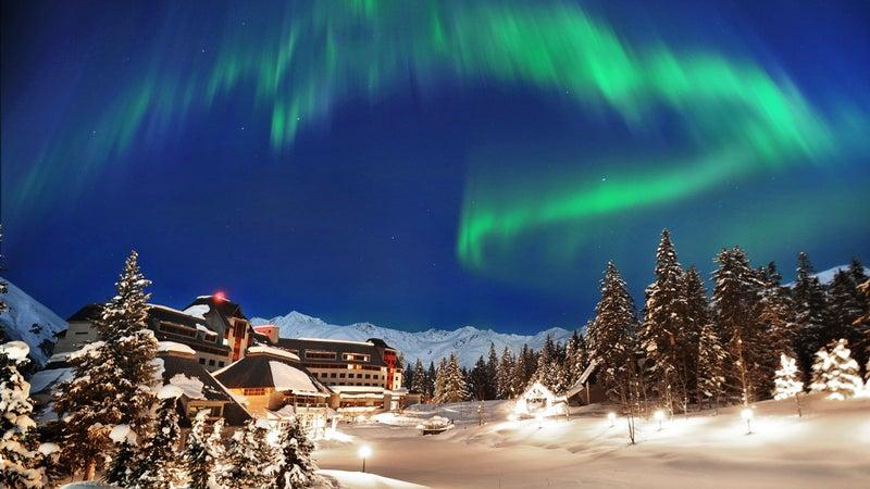 The Northern Lights brighten an otherwise dark winter in Alaska.