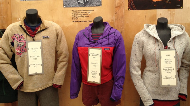 Some of Patagonia's most iconic products live within the 10,000-square-foot facility.