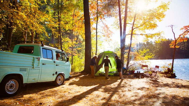 To find a perfect campsite, you should focus on safety, comfort, and fun.