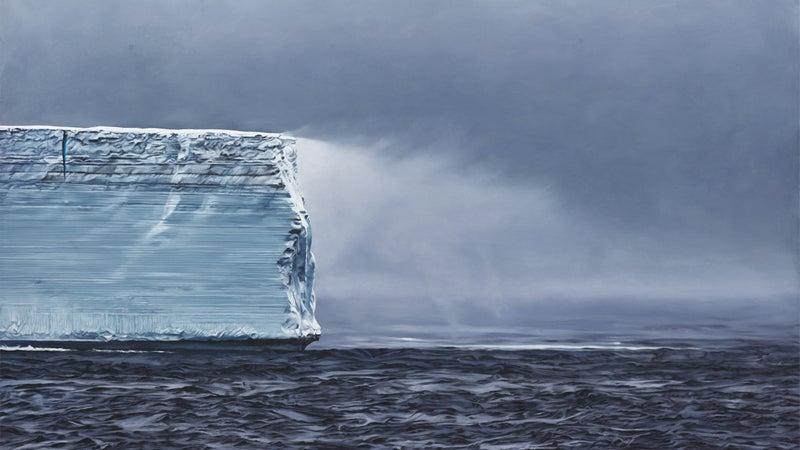 Iceberg Antartica no. 1, 2017.