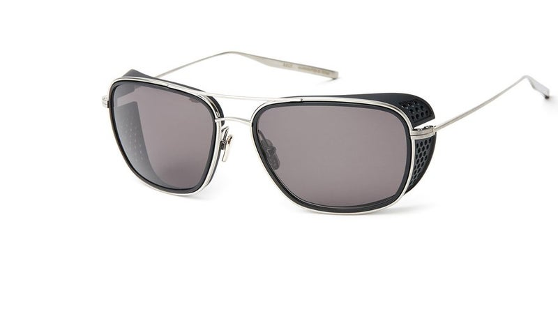 The distinctive plastic shields keep glare and wind out of your eyes, while the perforations reduce turbulence at high speeds and help retain your peripheral vision.