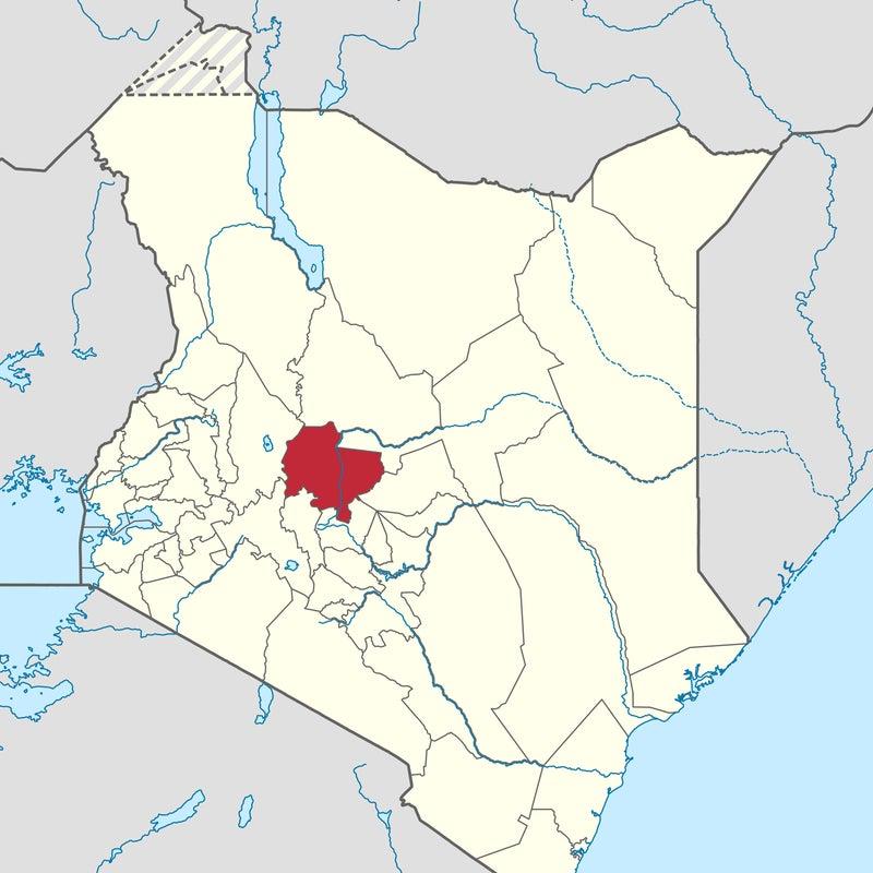 Laikipia County, Kenya.