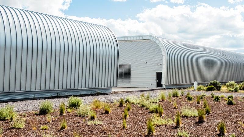 Apple data center.