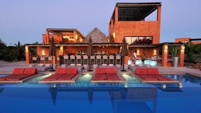 The pool at Rancho Pescadero.