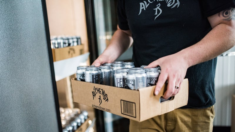 The highly sought after Heady Topper was called the 'best beer in the world' by BeerAdvocate.