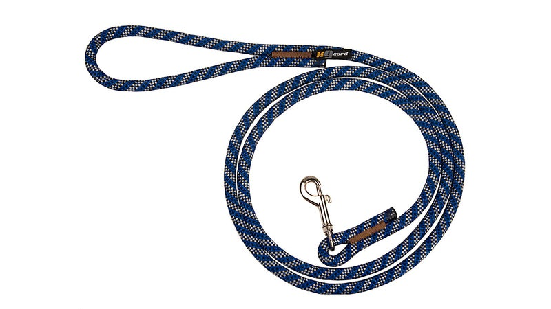 Dogs can't bite through climbing rope, so it makes an ideal material for leashes.