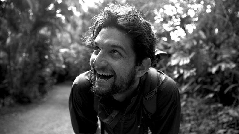 Aidan Haley got his first internship at a photography agency in Paris.
