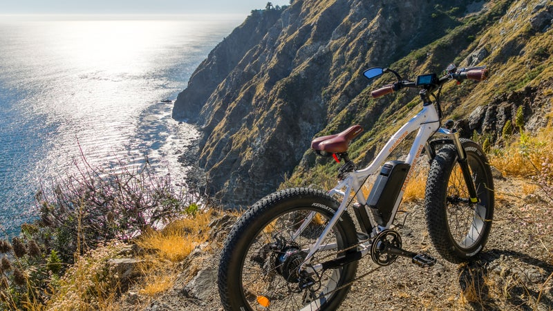 Cruise Big Sur on an electric bicycle.