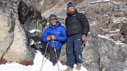 Mountaineer Hari Budha Magar.