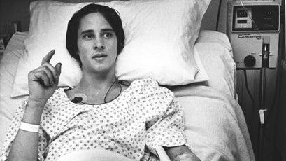 Herr in the hospital.