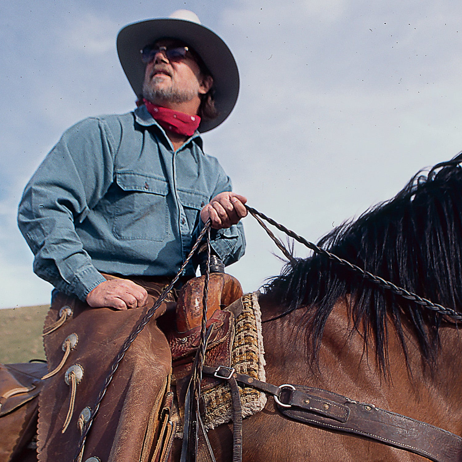 Cahill in Montana, 1997